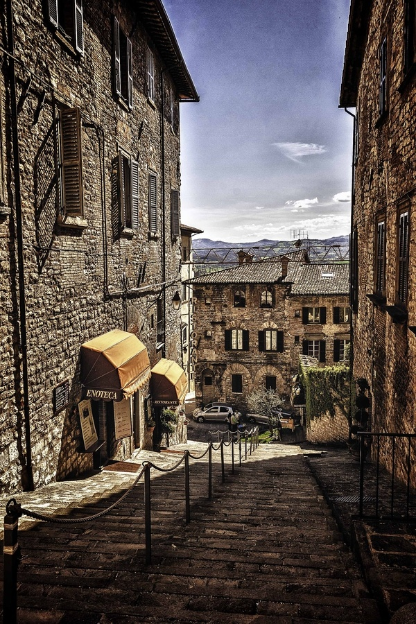 Gubbio (Perugia) Italia.