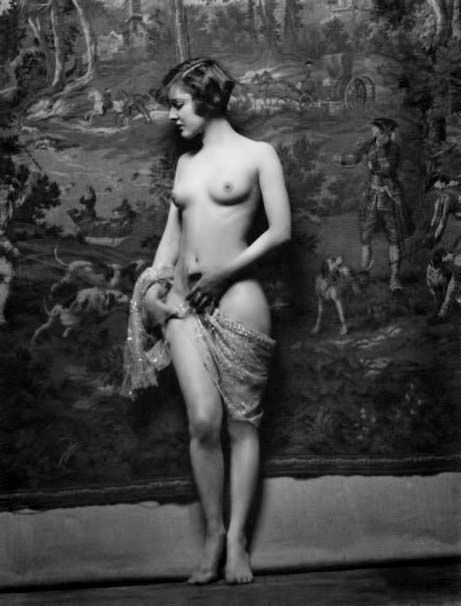 Ziegfeld girls nude vintage