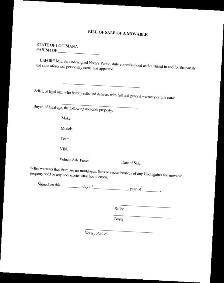 free auto bill of sale template download
