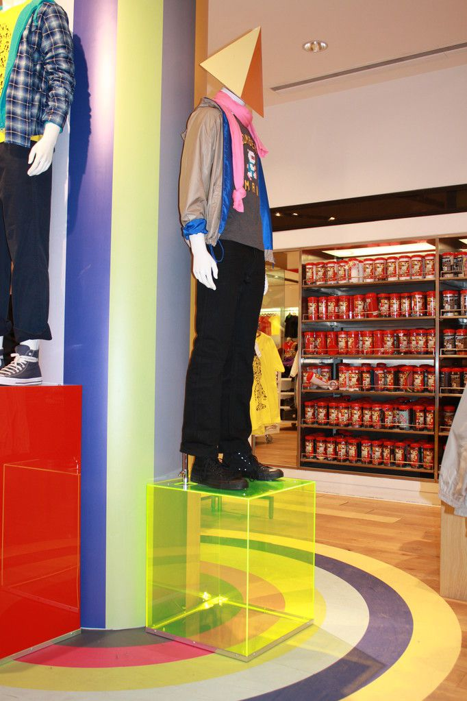 Image result for retail store design perspex