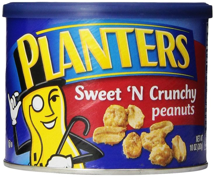 Planters Peanuts, Sweet N Crunchy, 10 Ounce (Pack of 6)