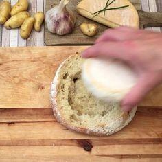 PAIN SURPRISE AU REBLOCHON ❓Mission reblochon : aidez les petites pommes de terre à trouver leur chemin  #chefclub #chefclubtv