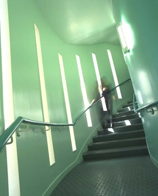 University Library at Epsom - stairs.  #Epsom