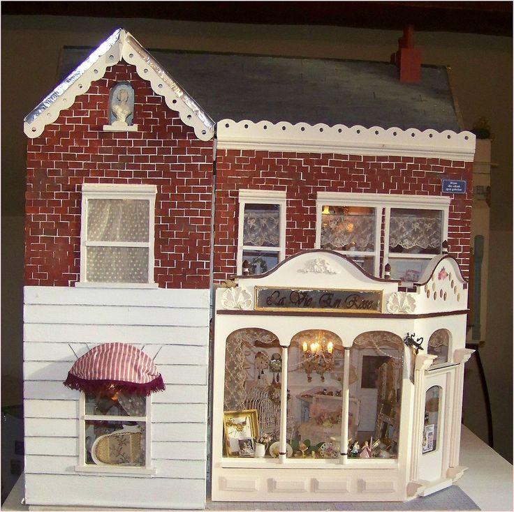 La Vie en Rose/ shabby chic dollhouse Photo - Visual Hunt