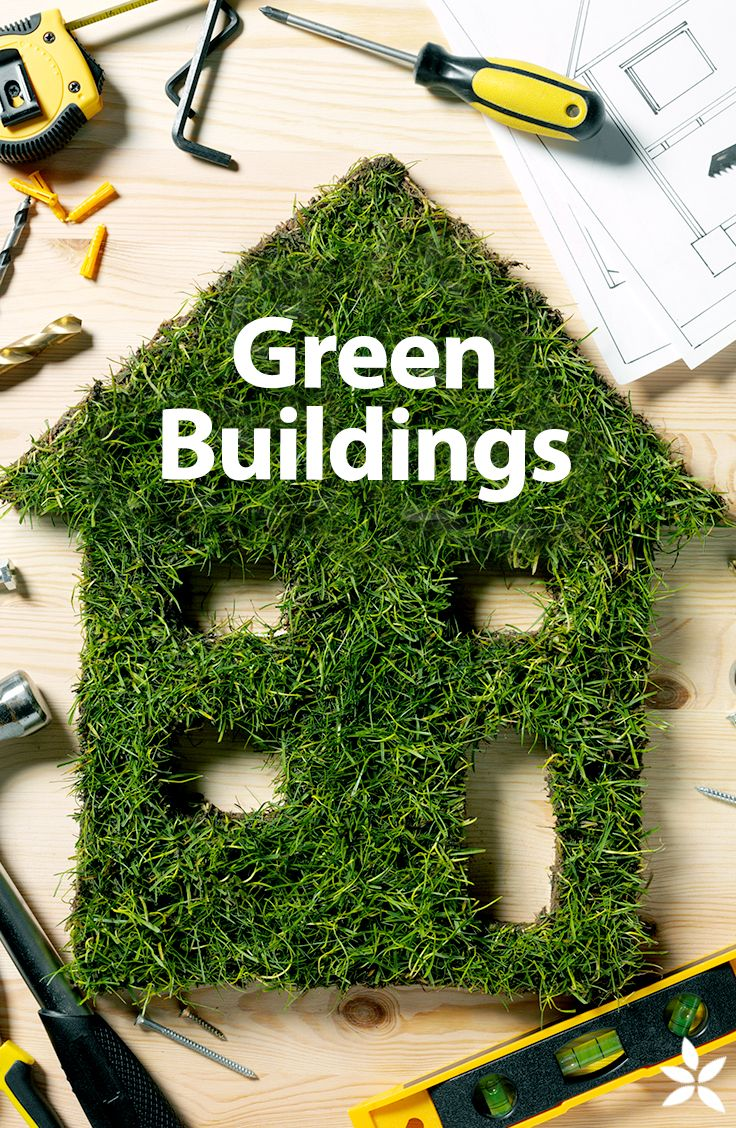 Green buildings are vital for the environment.