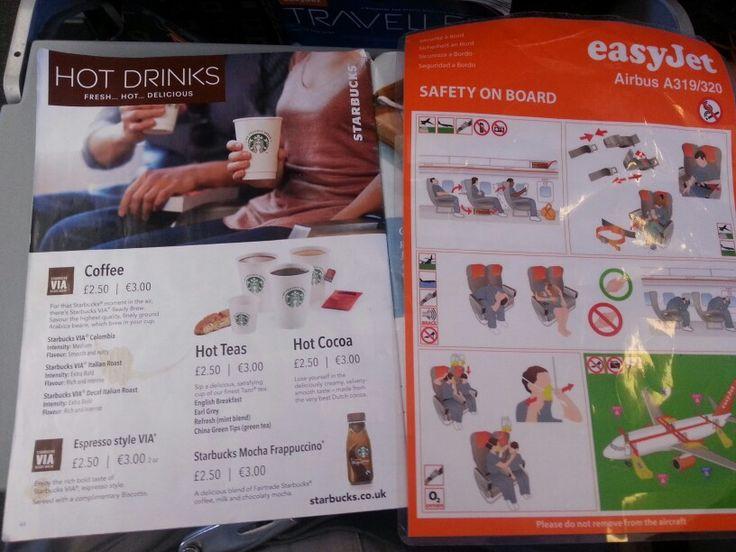 Easyjet and Starbucks