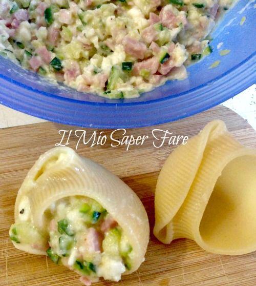 pasta ripiena con zucchine ricetta il mio saper fare