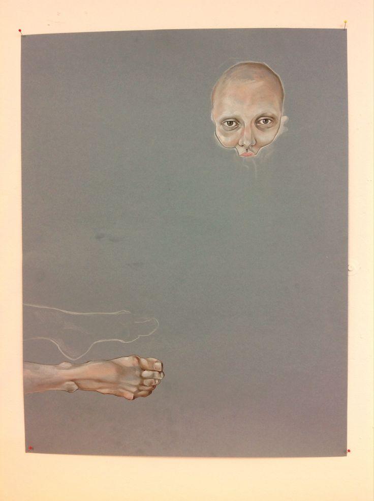 Feet Me - work in progress - by Sofie Casparsen ART