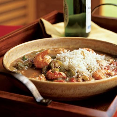Shrimp Etouffee.  I love Cajun and Creole cuisine.