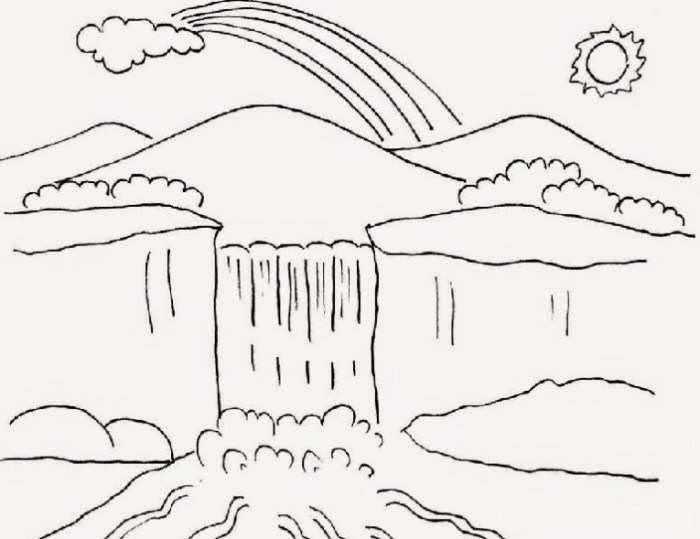 29 Gambar Kartun Hitam Putih Orang Gambar Pemandangan Hitam Putih Yang Mengagumkan Dan Patut Download Kartun Hi Di 2020 Easy Drawing Tutorial Buku Mewarnai Gambar
