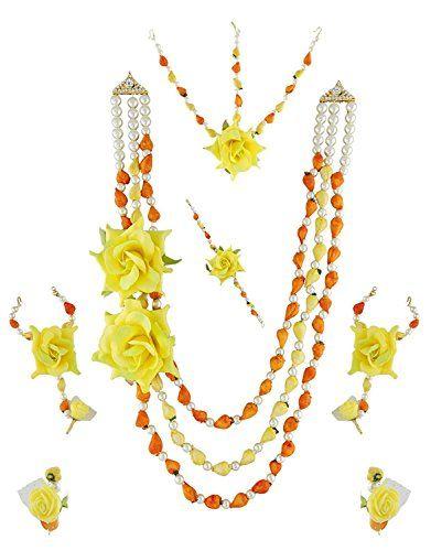 Indian Bollywood Inspired Wedding Orange Pearls Yellow Fl... https://www.amazon.com/dp/B06XP25BVW/ref=cm_sw_r_pi_dp_x_32PlzbHZT18HJ
