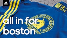 Check out this article by the Boston Athletic Association on the history of the Marathon!