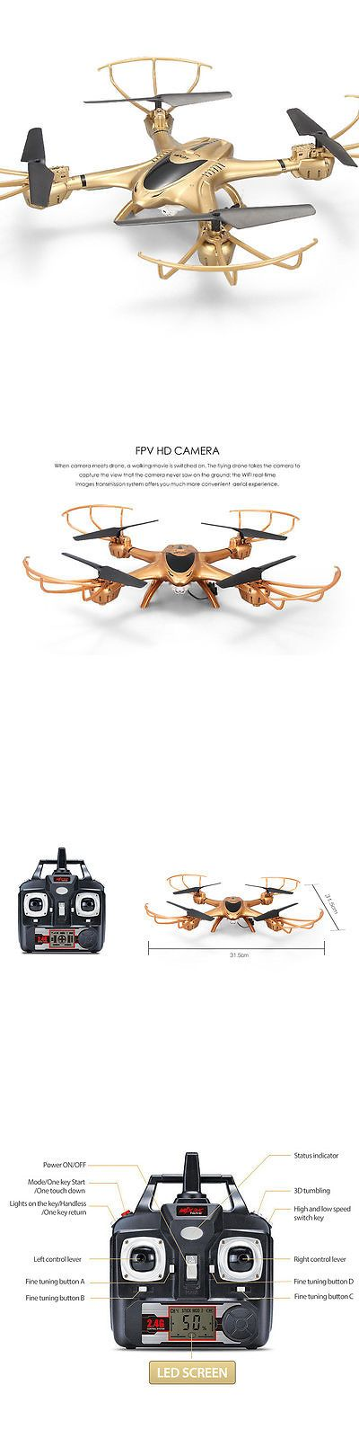 Other RC Model Vehicles and Kits 182186: X401h App Fpv Quadcopter Rc Drones 0.3Mp 2.4G Rtf Headless W Hd Camera 3D Roll -> BUY IT NOW ONLY: $59.99 on eBay!