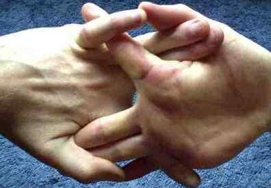 Finger Yoga - for help with hands that do lots of repetitive movements: needlework, playing instruments, typing