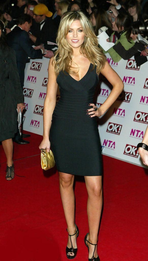 Abigail Clancy, British actress and lingerie model. Married to some soccer star...