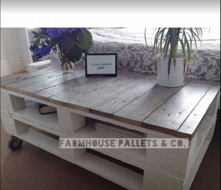 Farmhouse style rustic paint/waxed adaptable storage table.