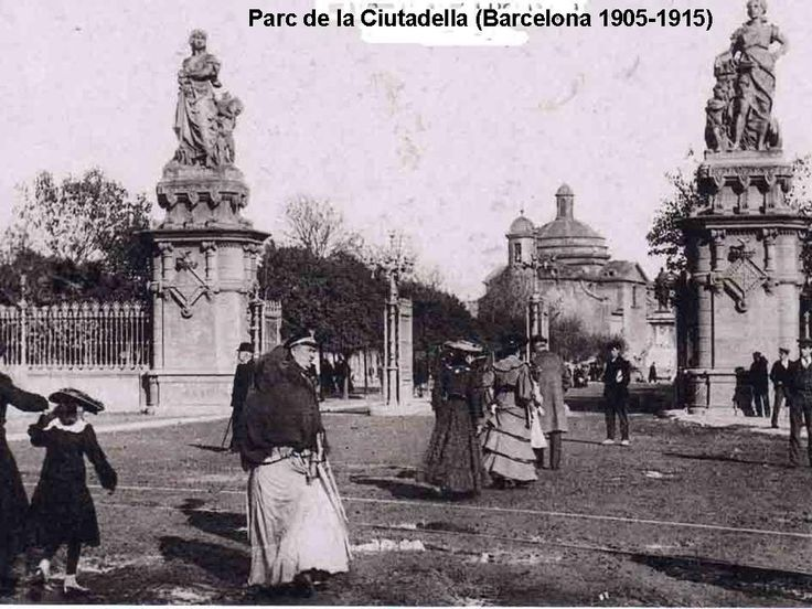 Parc de la Ciutadella (Barcelona 1905-1915)