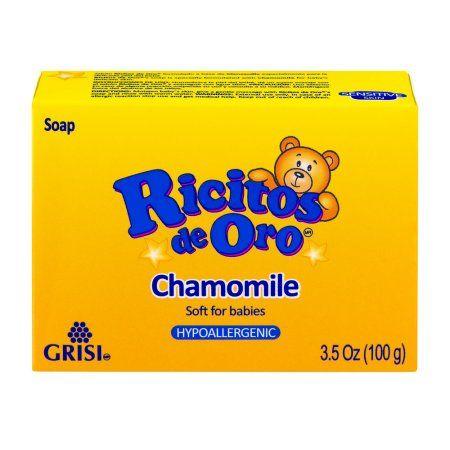 Ricitos de Oro Chamomile Hypoallergenic Soap, 3.5 OZ, Multicolor