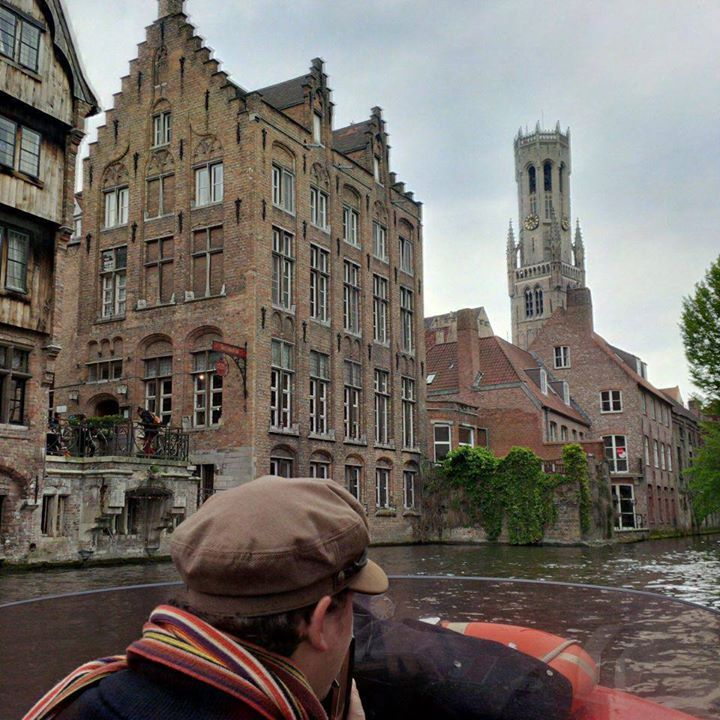 Canal ride in