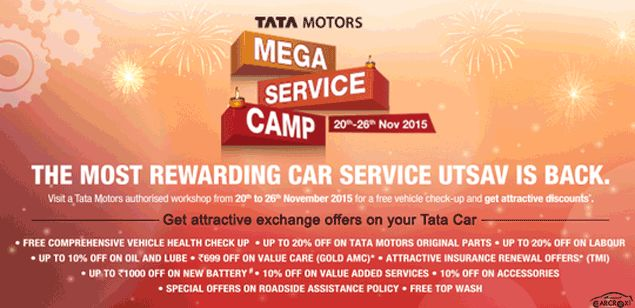 Mega Service Camp by Tata will be started from tomorrow in India | Car Crox
