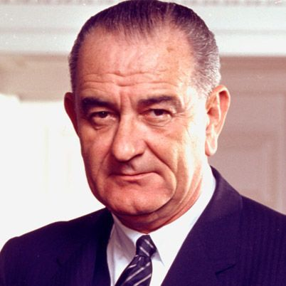 NAME: Lyndon B. Johnson  OCCUPATION: U.S. President  BIRTH DATE: August 27, 1908  DEATH DATE: January 22, 1973  EDUCATION: Southwest Texas State Teachers College at San Marcos  more about Lyndon  BEST KNOWN FOR    Lyndon B. Johnson was elected vice president of the U.S. in 1960 and became the 36th president in 1963 upon the assassination of President John F. Kennedy.