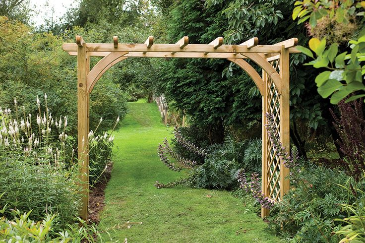 Large Ultima Pergola Arch Forest Garden Outdoor Pinterest Gardens Posts And Plants