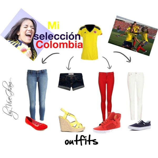 """""""seleccion Colombia"""" by laudac on Polyvore"""