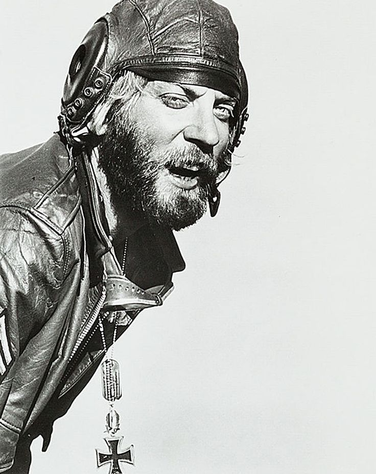 "Great film, and Donald was at his wackiest, Donald Sutherland in ""Kelly's Heroes"", 1970"