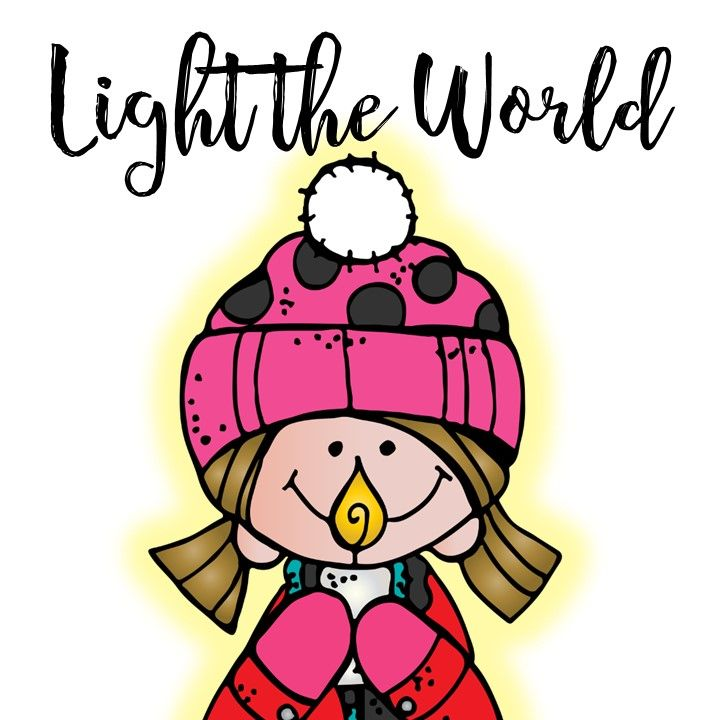 Lighttheworld It Starts Tomorrow Are You Ready Follow Along For The Next 25 Days And See How I Plan To Light The World Free Clip Art Clip Art Melonheadz