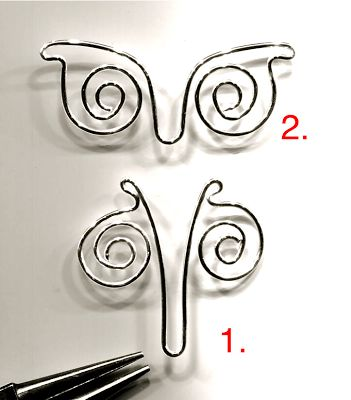 Nice tutorial from WireWorkers Guild on creating a nice wire butterfly.