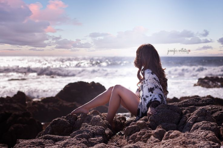 Photo by Jennifer Wilhite Photography | Senior Picture | Beach