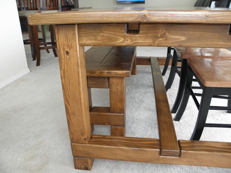 Farm Table Slots For Extensions