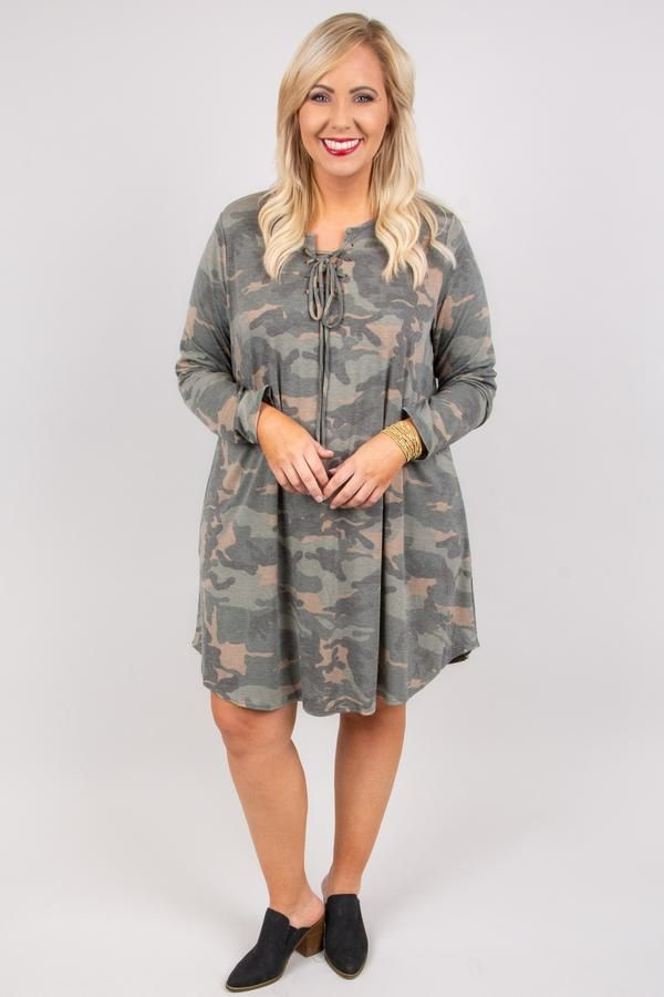 8da39d89819b6 Don't Miss Out Dress, Olive   Now You See Me   Dresses, Cozy fashion,  Fashion