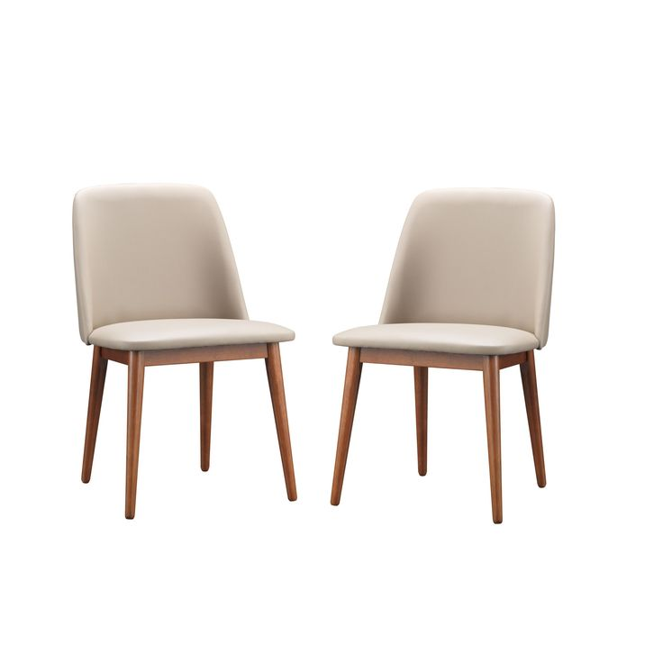 Set of 2 Lavin Mid-Century Solid Wood Dining Chair - Overstock Shopping - Great Deals on Baxton Studio Dining Chairs $205