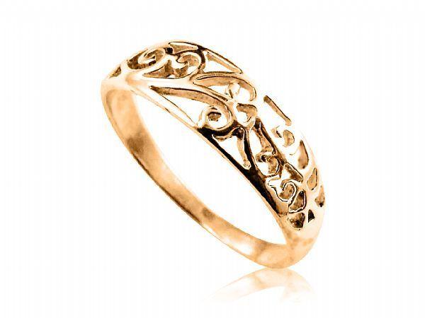 Anel Filigrana em Ouro amarelo Metal: Ouro 10K (416) Modelo: Filigrana Quantidade: 1 Anel Largura: 0.3cm Peso: 2.0 gramas (Aprox). CERTIFICADO DE GARANTIA ETERNA