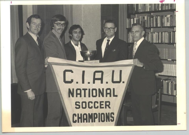 Happy Throwback Thursday! Flashback to 1977 when York won the CIAU soccer championship!