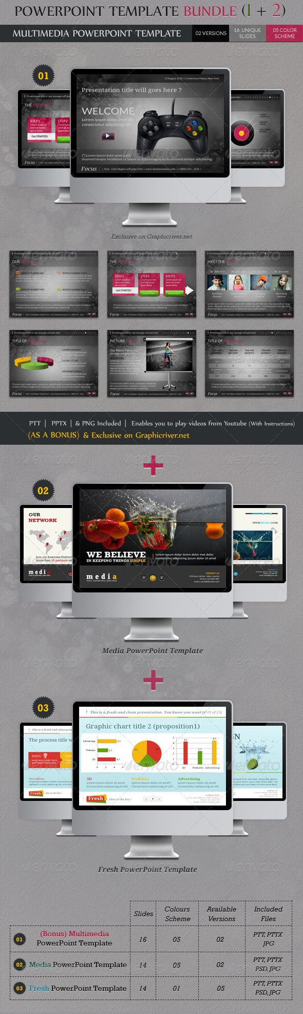 14 best powerpoint templates images on pinterest | presentation, Modern powerpoint