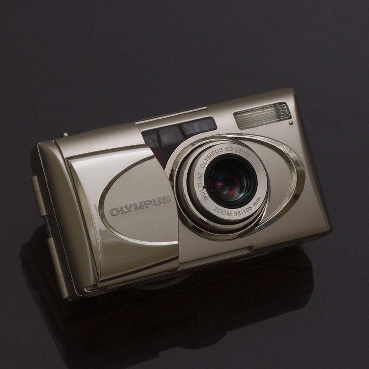 OLYMPUS μ [mju:]-V 5 Compact AF 35mm Film Pocket CAMERA Point & Shoot AllWeather