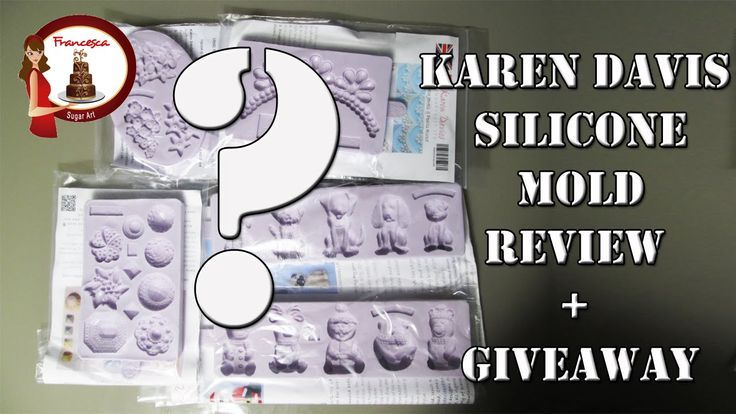 Karen Davis Silicone Mold Review + Giveaway
