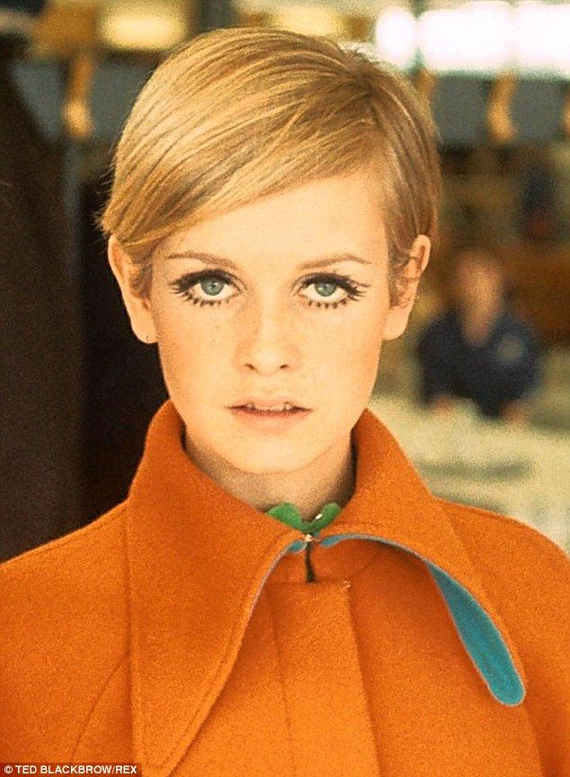 Twiggy's life in 15 hairstyles | Daily Mail Online