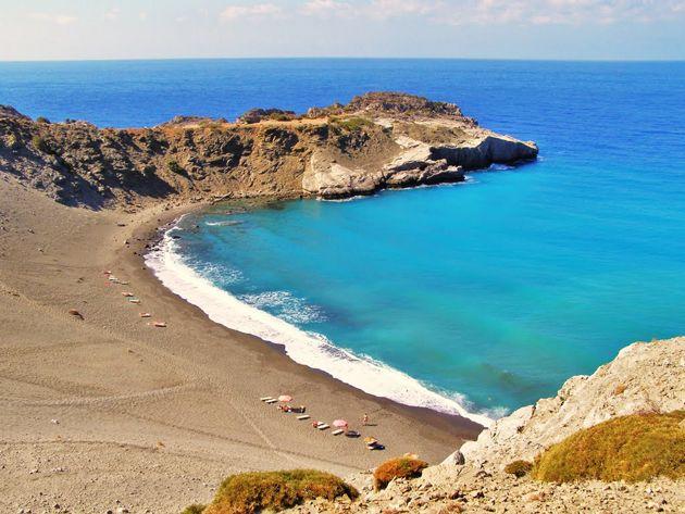 Agios Pavlos beach , south coast, Rethymno , Crete, Greece