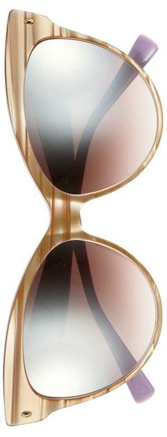 DIOR (Beauty) Mohotani 58mm Cat Eye Sunglasses Beige/Pink  by LoLo