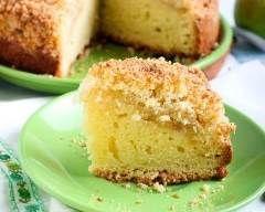 Apple crumble cake (gâteau-crumble aux pommes irlandais)