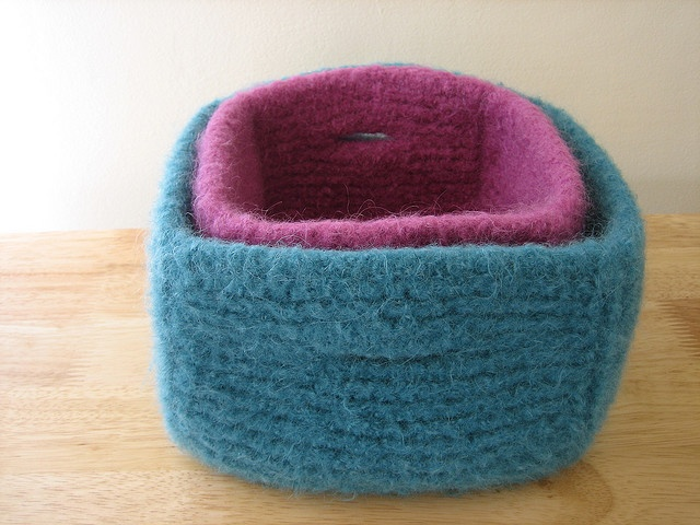 Knitting Joining Yarn Felting : Best images about knit for the home on pinterest