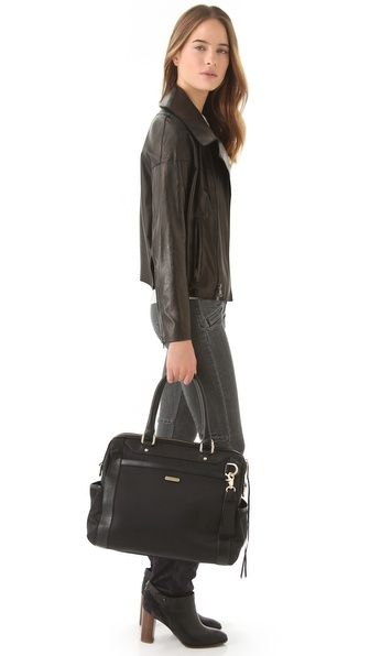 {forget that its a diaper bag - this could be great for work travel} Rebecca Minkoff Knocked Up Baby Bag