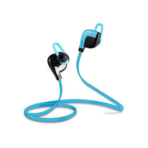 Dacom APT-X Bluetooth 4.1 Wireless Sport Headphone-Blue