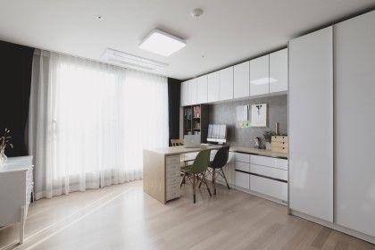 카페 스타일의 새 아파트 인테리어, 삼송동 30평대 아파트 홈디자인 새 아파트에 입주하면서 인테리어를 할...
