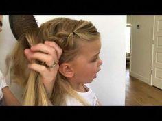 Little Girls Hair Tutorial (Elsa Braid) — Milo – YouTube – June 22 2019 at 11:1…