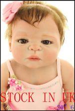 "Reborn Doll STOCK IN UK 18"" Doll Handmade Realistic Chidren-Surprise poupées"