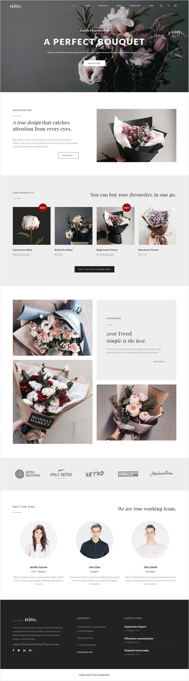 Nito is a clean and minimal multipurpose #WordPress theme for stunning #flower #shop website with 21+ unique homepage layouts download now➩ https://themeforest.net/item/nito-a-clean-minimal-multipurpose-wordpress-theme/17897172?ref=Datasata http://ecommerce.jrstudioweb.com/